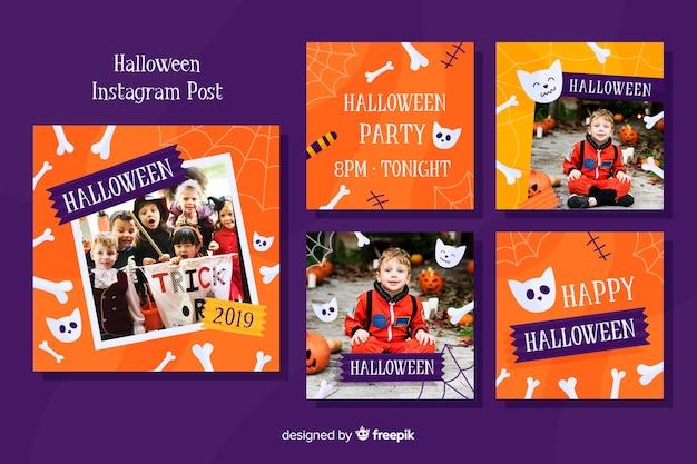 Halloween instagram postverzameling