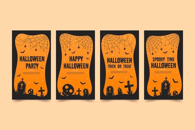 Halloween instagram-verhalen