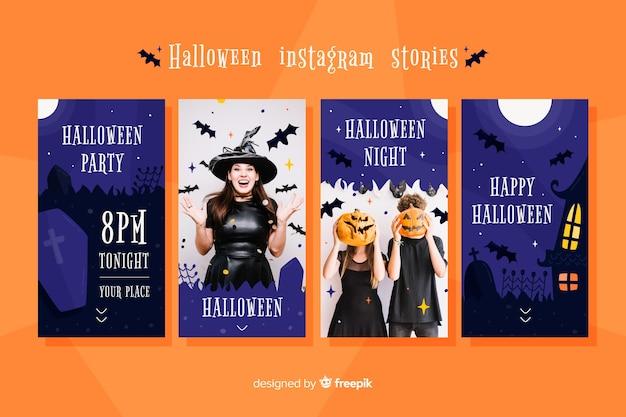 Halloween instagram-verhalencollectie