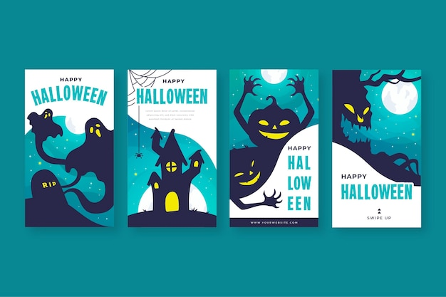 Halloween instagram verhalencollectie