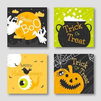 Halloween kaartenset