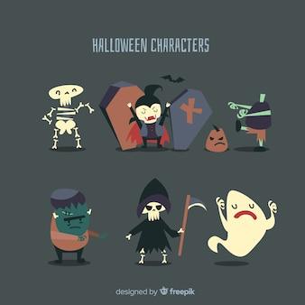 Halloween karakter collectie