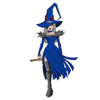 Halloween karakter kostuum