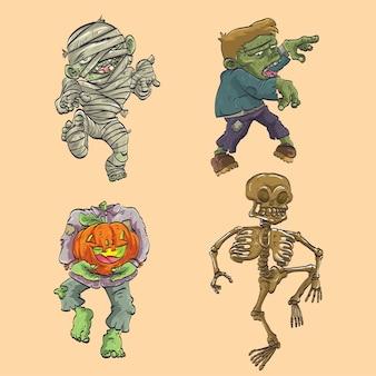 Halloween karakter