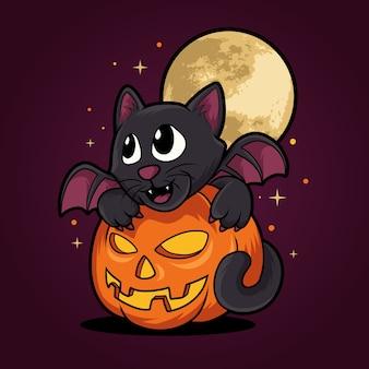 Halloween kat