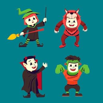 Halloween kid collectie