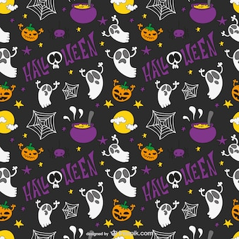 Halloween kind patroon