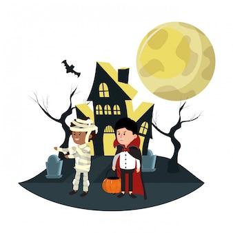 Halloween kinder tekenfilms