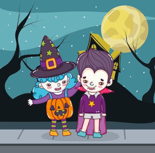 Halloween kindercartoons
