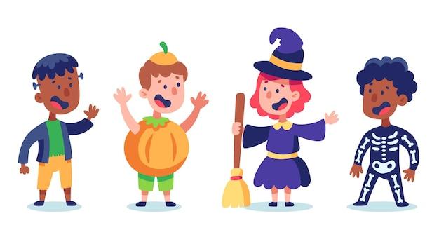 Halloween kinderpakket