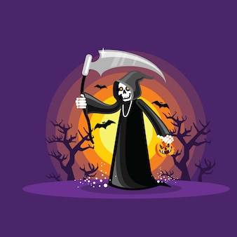 Halloween magere hein
