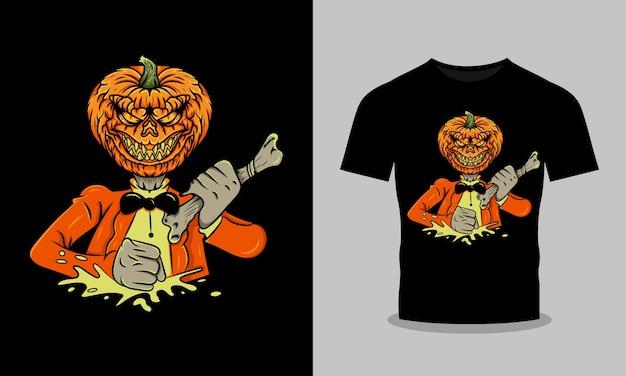 Halloween mannen met botten