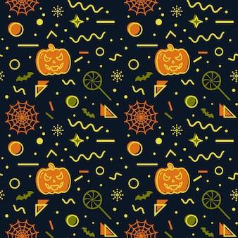 Halloween naadloze achtergrond