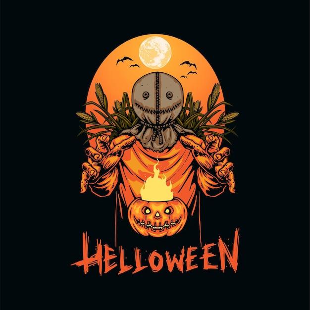 Halloween nacht met trick or treat sam