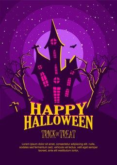 Halloween ontwerpconcept