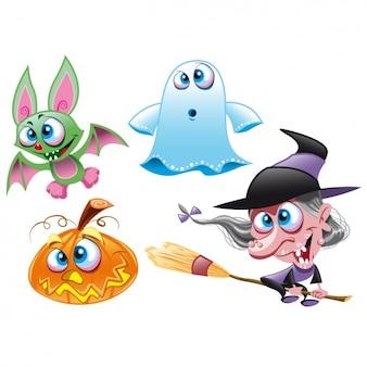 Halloween ontwerpt collectie