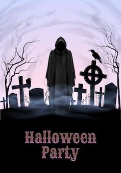 Halloween-partijillustratie