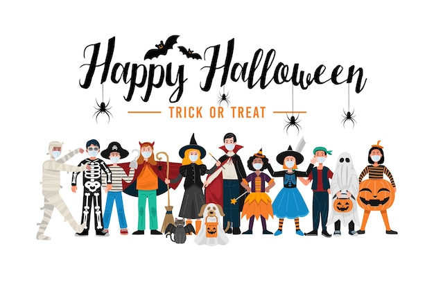 Halloween party achtergrond