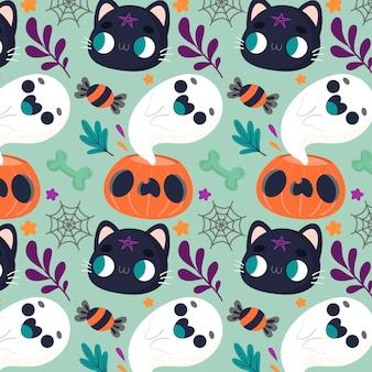 Halloween patroon concept