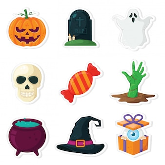 Halloween pictogram