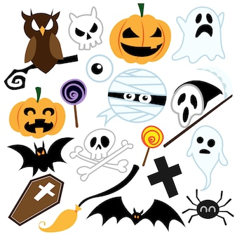 Halloween-pictogrammen