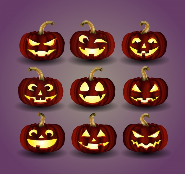Halloween-pompoen voor decoratie