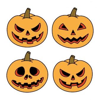 Halloween-pompoenreeks
