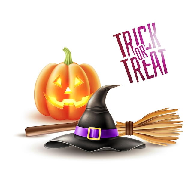 Halloween poster trick or treat