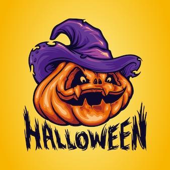 Halloween pumpkinheads