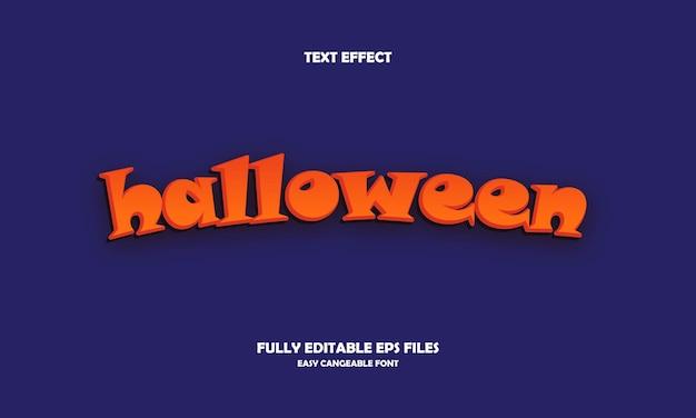 Halloween-teksteffect