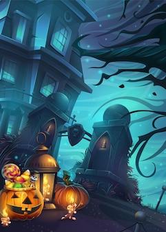Halloween thema achtergrond
