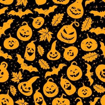 Halloween thema naadloze patroon