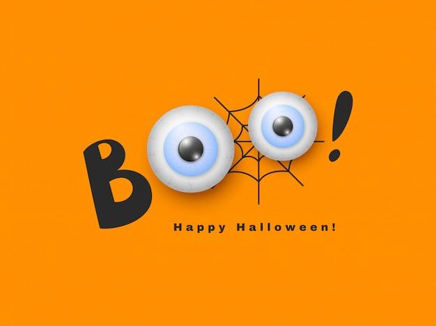 Halloween vakantie ontwerp.