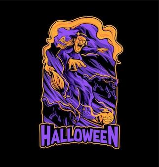 Halloween vector t-shirt sjabloon halloween t-shirt sjabloon