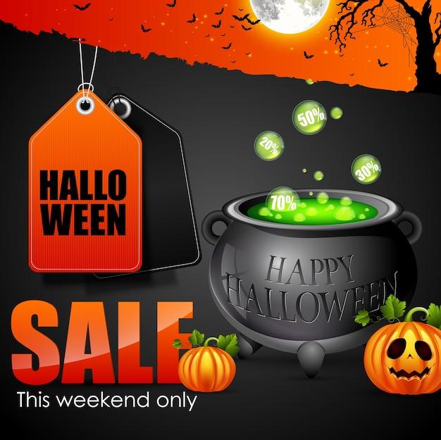 Halloween verkoop