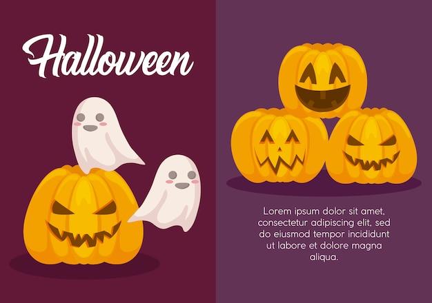 Halloween-viering bannerbanner