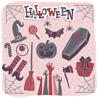 Halloween viering pictogram