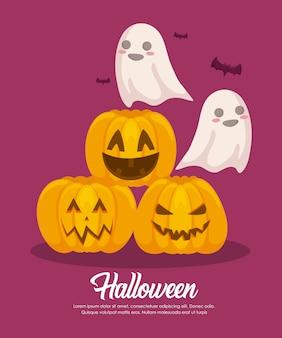 Halloween-vieringbanner