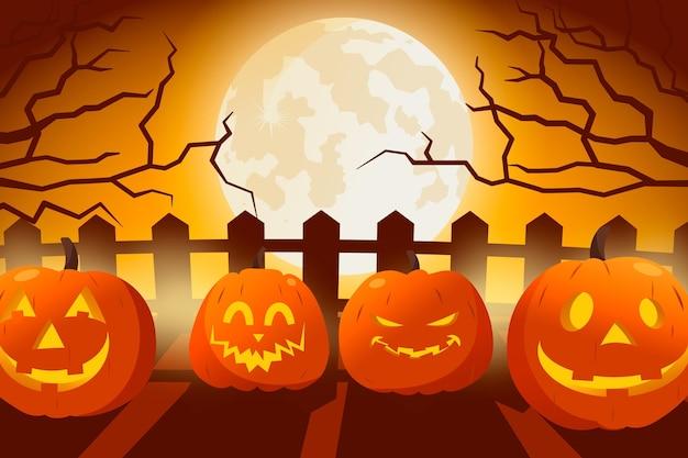Halloween wallpaper ontwerp