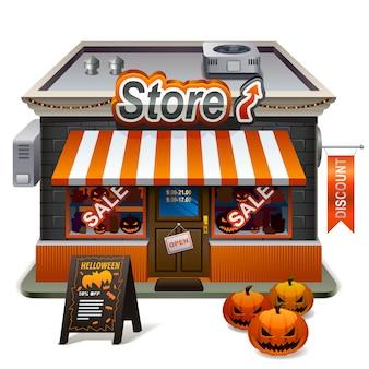 Halloween winkel
