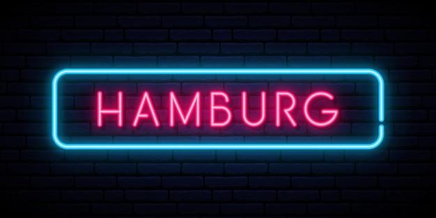 Hamburg neonreclame