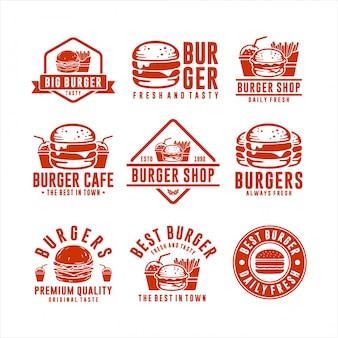 Hamburger beste in de stad collectie
