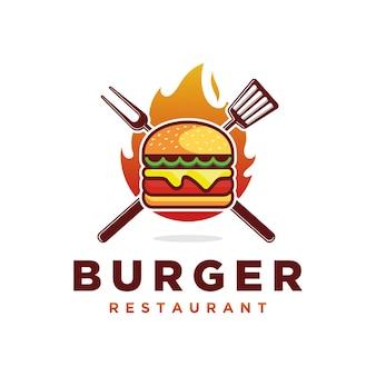 Hamburger logo vector art design