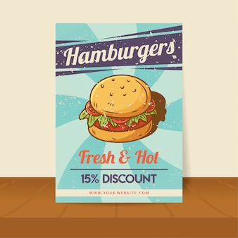 Hamburger poster