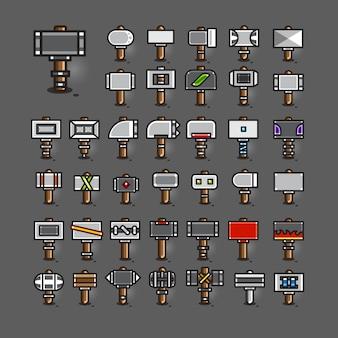 Hamers voor het maken van videogames