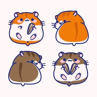 Hamster illustratie
