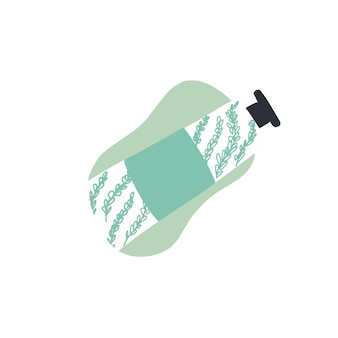 Hand crème illustratie