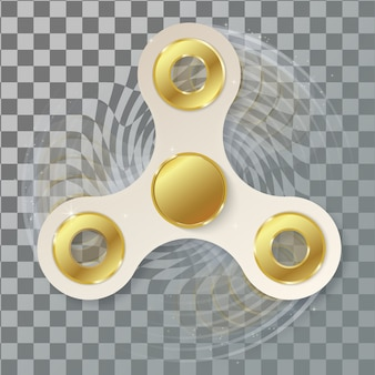 Hand fidget spinner.