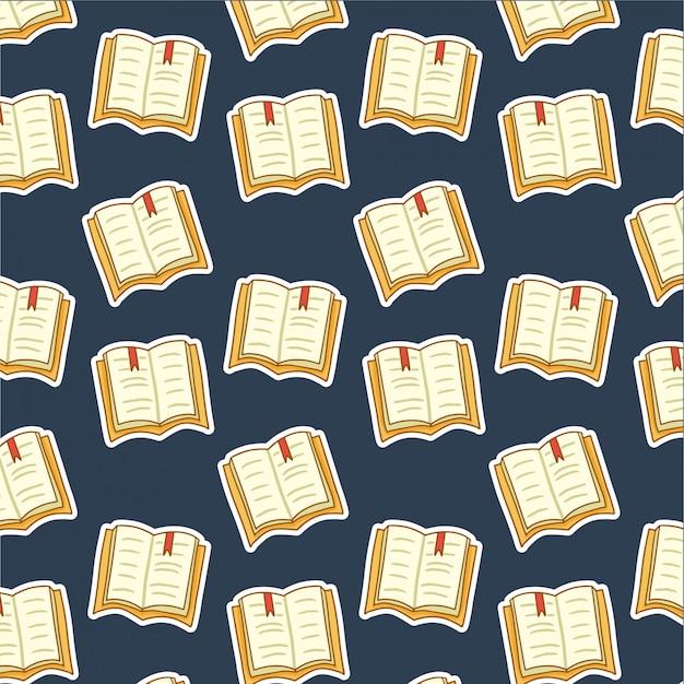 Hand getekend boekpatroon