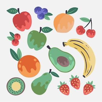 Hand getekend fruitpakket